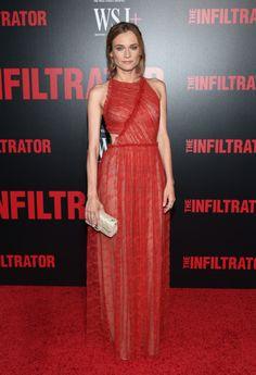 Diane Kruger, premiereThe Infiltrator July 2016