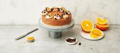 Jäädytetty appelsiini-suklaajuustokakku | Makeat leivonnaiset | Reseptit – K-Ruoka Tiramisu, Sweets, Baking, Ethnic Recipes, Desserts, Food, Tailgate Desserts, Deserts, Gummi Candy