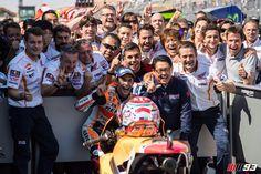 MotoGP第14戦アラゴン決勝 地元スペインでマルケス優勝