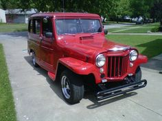 1960 willys overland jeepster street rod