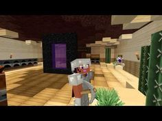 Minecraft Mindcrack Fanserver! Finishing the Nether Tunnel :D