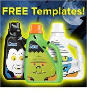 How to Make #Halloween Decorations Using Empty Detergent Bottles - By Purex