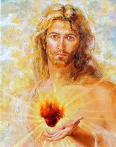 Enthronement and Consecration of the Sacred Heart as King of the Family  (painting of The Sacred Heart of Jesus by Joseph Fanelli)