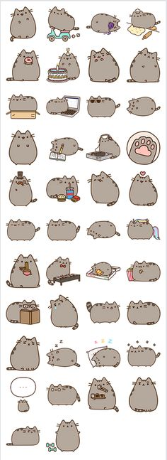 Pusheen wow!!!!!
