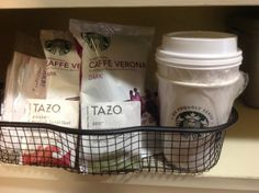 Starbucks Coffee and Tazo Tea in guest rooms