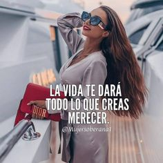 Boss Lady, Girl Boss, Tweet Quotes, Me Quotes, Cute Spanish Quotes, Old Wedding Dresses, Diva Quotes, Positive Phrases, Encouragement Quotes