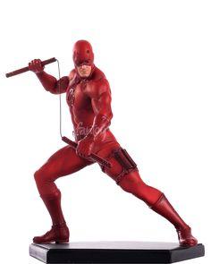 Estátua DareDevil Marvel Comics #3 Iron Studios