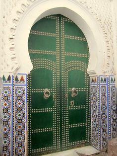 Tetouan Medina Door by SyrianSindibad, www.asilahventures.com