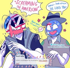 Bunch of pics I found of Countryhumans, theres some nsfw tho and that… Cute Comics, Funny Comics, Hetalia, Character Art, Character Design, Human App, Fanfiction, Mundo Comic, Country Men