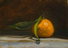 daily painting titled Clementine - click for enlargement