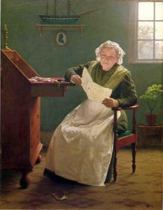 19th-century American Women: The Reading Paintings of New York's Seymour Joseph Guy (1824-1910)