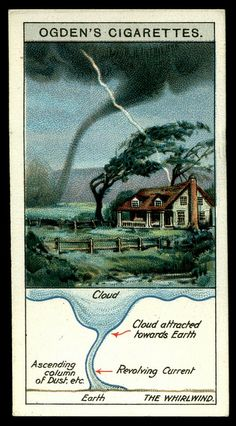 Cigarette Card - The Whirlwind by cigcardpix, via Flickr