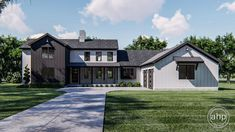 Modern Farmhouse Design, Modern Farmhouse Exterior, Farmhouse Bedrooms, Farmhouse Ideas, Farmhouse Decor, Modern Design, Best House Plans, Story House, Build Your Dream Home