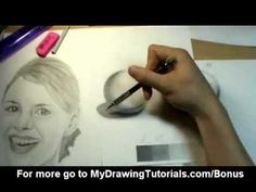 [Realistic Drawing Tutorial Pencil Shading Techniques & How To Shade A Portrait Realistic Drawing Tutorial, Realistic Rose Drawing, Realistic Eye, Drawing Tutorials, Drawing Ideas, Pencil Shading Techniques, Drawing Techniques, Plant Drawing, Wall Drawing