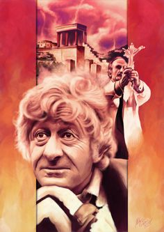 Jon Pertwee's bouffant. Some other things also appear.