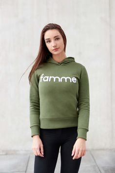 Amazing fit, look comfort and finished with a signature chenille embroidery. Hoodies, Sweatshirts, Casual Wear, Custom Made, Denim Jeans, It Is Finished, Graphic Sweatshirt, Fitness, Fabric