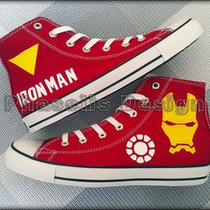 Shop the latest products from phaselisdesign on Wanelo, the world's biggest shopping mall. Custom Converse, Converse Men, Custom Shoes, Converse Style, Marvel Shoes, Marvel Clothes, Marvel Universe, Painted Converse, Marvel Fashion
