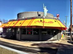 NY-style deli and diner with killer cheesecake and matzo ball soup. Nashville Map, Visit Nashville, Ny Style, Thousand Islands, Veggie Burgers, Deli, Four Square, Tennessee, Places To Go