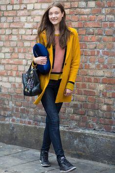 London/Milan Fashion Week S/S 14 Street Style by Melodie Jeng (Models.com)