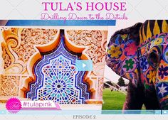 Tula's House - Drilling Down to the Details. Tula defines what it is to be an illustrator and describes how she chooses colors for her designs. Tula has amazing quilt kits and quilt project materials available at Keepsake Quilting. #TulasHouse #TulaPink