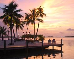 Islamorada, Florida. I would love to sit outside to watch the sunset after our fish fry. Amazing memories.