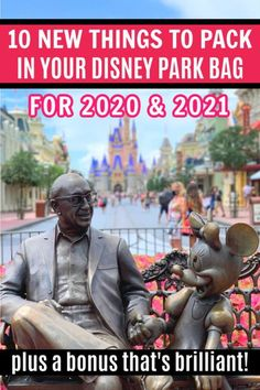 Ready to pack your Disney park bag for this year - and next? Here are 10 things to pack in your Disney park bag for 2020 and 2021, plus a bonus one you've never thought of! #DisneyParks #WDW #DisneyPlanning #DisneyTrip #DisneyWorld 10 More Things to Buy for Your Disney World Park Bag in 2020 - Sand and Snow Disney World Packing, Disney World Secrets, Disney World Parks, Walt Disney World Vacations, Disneyland Trip, Disney World Tips And Tricks, Disney Travel, Disney Time, Disney Magic