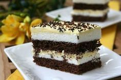 Domaći kuhar - Deserti i slana jela: Deserti Sweets Recipes, Cake Recipes, My Favorite Food, Favorite Recipes, Food Wishes, Croatian Recipes, Romanian Food, Kakao, Yummy Cakes
