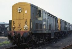 A number of withdrawn BR Class were stored at the former diesel depot at Ipswich in awaiting transfer to Crewe for breaking up. Electric Locomotive, Diesel Locomotive, Uk Rail, British Rail, Electric Train, Better Day, Diesel Engine, Great Britain, Engineering