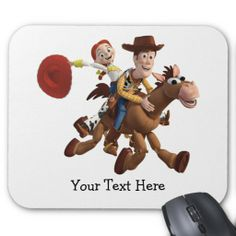 looking for Toy Story 3 - Woody Jessie Mousepads Toy Story 3 - Woody ...
