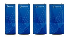A short timelapse based film showing the basic models and some of the larger exhibition graphic solutions that can be assembled using the new Konnect Bann. Display Banners, Corporate Interiors