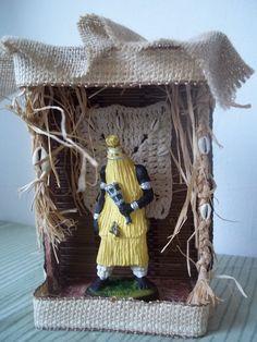 Omolu Altar, Babalu Aye, African Goddess, Holy Mary, Believe In Magic, Sacred Art, Gods And Goddesses, Grapevine Wreath, Grape Vines