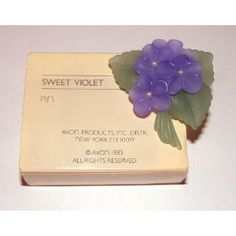 Avon violet pin