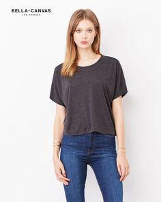 T-shirt-donna-maniche-a-pipistrello-Bella-Canvas-BE8881c
