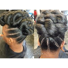 Black Hair Updo Hairstyles, Elegant Hairstyles, Black Girls Hairstyles, Twist Hairstyles, Halo Hairstyle, Hairdos, Updos, Natural Hair Wedding, Natural Hair Updo