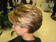 Cute cut, but really like the highlights.  Short Hair Styles