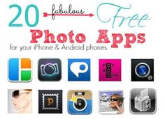 20 FREE Android & iPhone Photo Apps - Passion for Savings