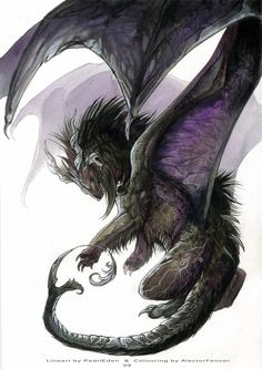 Dark beast by `PearlEden on deviantART