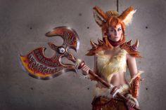 Meisha mock arcanine cosplay