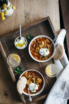 pita ribollita (onion, carrot, celery, garlic, hawaij, aleppo pepper, 28 oz tomatoes, 4 c broth, 2 cans cannellini beans - maybe chickpeas instead, pita, yogurt and parsley)