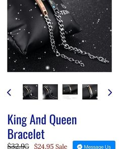 . Couple Bracelets, Joseph, King, Queen, Hot, Instagram