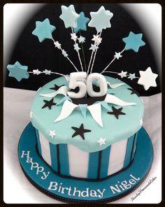 50 Explosion Celebration Cake