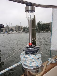 """The """"Life Afloat"""" Archives: Things That Make Life Better: My Favorite Low-Cost/No-Cost Liveaboard Hacks Sailboat Living, Living On A Boat, Liveaboard Sailboat, Boating Tips, Sailboat Interior, E Motor, Sailing Trips, Sailing Yachts, Boat Safety"""