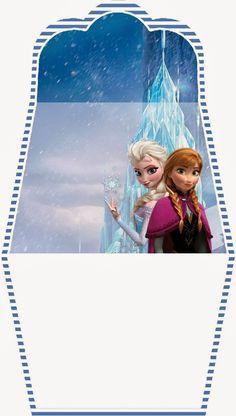 Frozen: Free Printable Purse Invitation 2.
