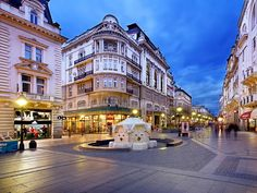 The capital of Serbia is located at the confluence of the Sava and the Danube rivers. It is the biggest city in Serbia with about million inhabitants. In recent years, Belgrade became very popu… Albania, Resorts, Serbia Travel, Serbia And Montenegro, Belgrade Serbia, White City, Most Beautiful Cities, Bosnia, Night Life
