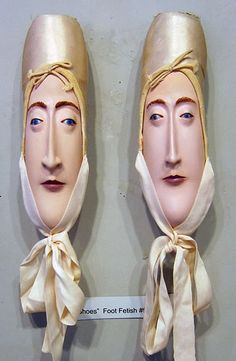 """ALL MY EYES """"Toe Shoes"""" by Gwen Murphy"""