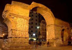 Arch of Galerius aka kamara. Macedonia Greece