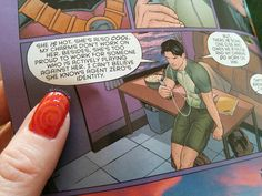 Spyral Nails #Grayson #DickGrayson #Spyral #nailart #comics #geeknails #nerdnails