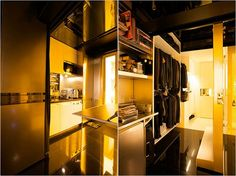Domestic Transformer Home: 344 Square Feet, 24 Rooms   Tiny ...