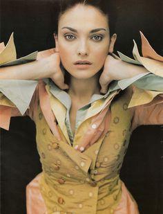 Etro 1997  Model: Laura Ponte