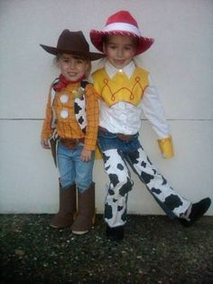 Diy jessie toy story toddler costume no sewing halloween woody and jessie costume diy lewis wants to be woodynsey solutioingenieria Gallery